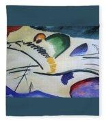 1911 Vasily Kandinsky Fleece Blanket
