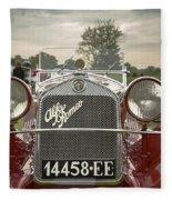 1931 Alfa Romeo Fleece Blanket