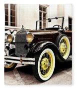 1931 Ford Phaeton Fleece Blanket