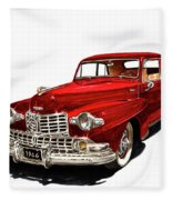 1946 Lincoln Continental Mk I Fleece Blanket