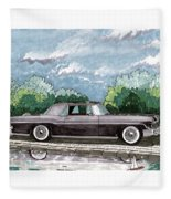1956  Lincoln Continental Mk II Fleece Blanket