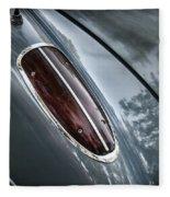 1960 Chevrolet Corvette Taillight Fleece Blanket