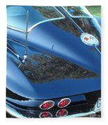 1963 Corvette Fleece Blanket