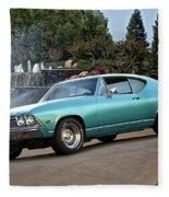 1968 Chevelle Malibu II Fleece Blanket
