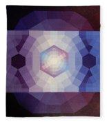 #65 Violet Field Fleece Blanket