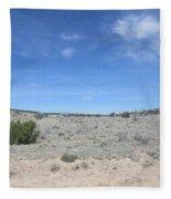 A Concho Landscape Fleece Blanket