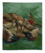 A Crab On Its Back Paris, August-september 1887 Vincent Van Gogh 1853 - 1890 Fleece Blanket