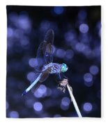 A Dragonfly Fleece Blanket