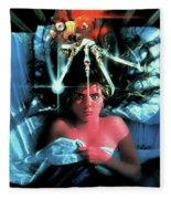 A Nightmare On Elm Street 1984 Fleece Blanket