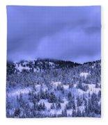 A Utah Winter Fleece Blanket