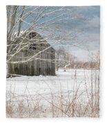 A Winters Day Fleece Blanket