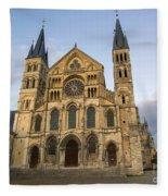 Abbey Of Saint - Remi Reims Fleece Blanket