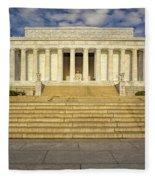 Abraham Lincoln Memorial  Fleece Blanket