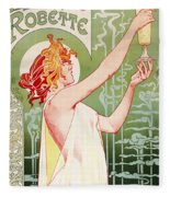 Absinthe Robette Fleece Blanket