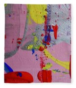 Abstract 10061 Fleece Blanket