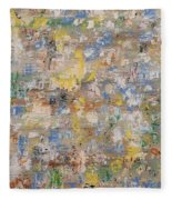 Abstract 189 Fleece Blanket