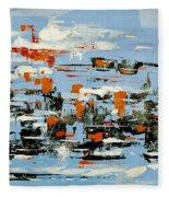 Abstract Art Project #25 Fleece Blanket