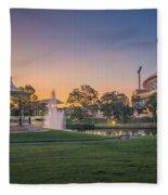 Adelaide Sunset Fleece Blanket