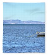 Aegadian Islands - Sicily Fleece Blanket