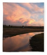 After The Storm Fleece Blanket