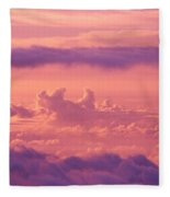 Afternoon On Haleakala Fleece Blanket