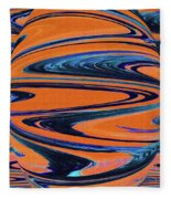 Agave Abstract Fleece Blanket