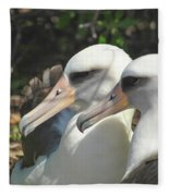 Albatross Lovers Fleece Blanket