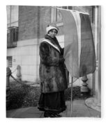 Alice Paul (1885-1977) Fleece Blanket