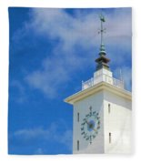 All Along The Watchtower Fleece Blanket