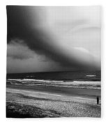 Alone In St. Augustine Fleece Blanket