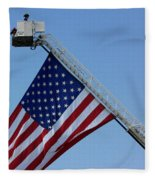 American Firefighter Fleece Blanket