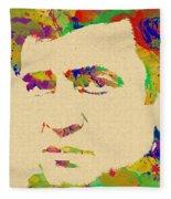 American Legend Johnny Cash Fleece Blanket