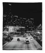 An Evening In Baltimore Fleece Blanket