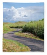 An Inviting Path Fleece Blanket