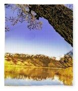 Ancient Trees Fleece Blanket