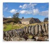 Ancient Welsh Church Fleece Blanket