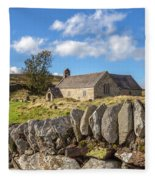 Ancient Welsh Church Fleece Blanket