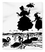 Andersen: Ugly Duckling Fleece Blanket