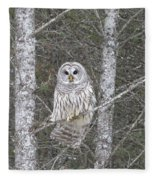 Angel Owl Fleece Blanket