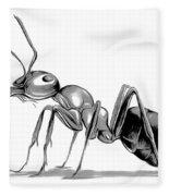 Ant Fleece Blanket