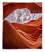 Antelope Canyon Fleece Blanket