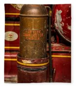Antique Fire Extinguisher Fleece Blanket