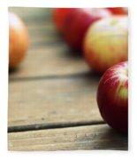 Apple Fleece Blanket