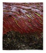 Arbutus Tree Bark Fleece Blanket