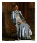 Archbishop Diomede Falconio Fleece Blanket