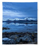 Arctic Reflections Fleece Blanket