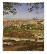 Ariccia, Near Rome, Italy Fleece Blanket