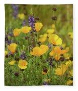 Arizona Wildflowers  Fleece Blanket