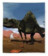 Arizonasaurus Dinosaur - 3d Render Fleece Blanket