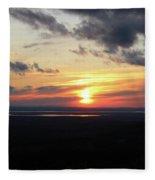 As The Sun Goes Down Fleece Blanket